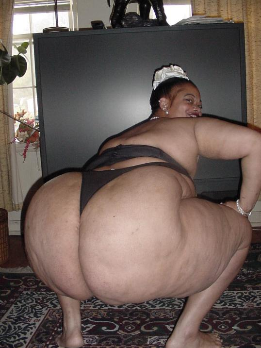 Fat black bbw ass