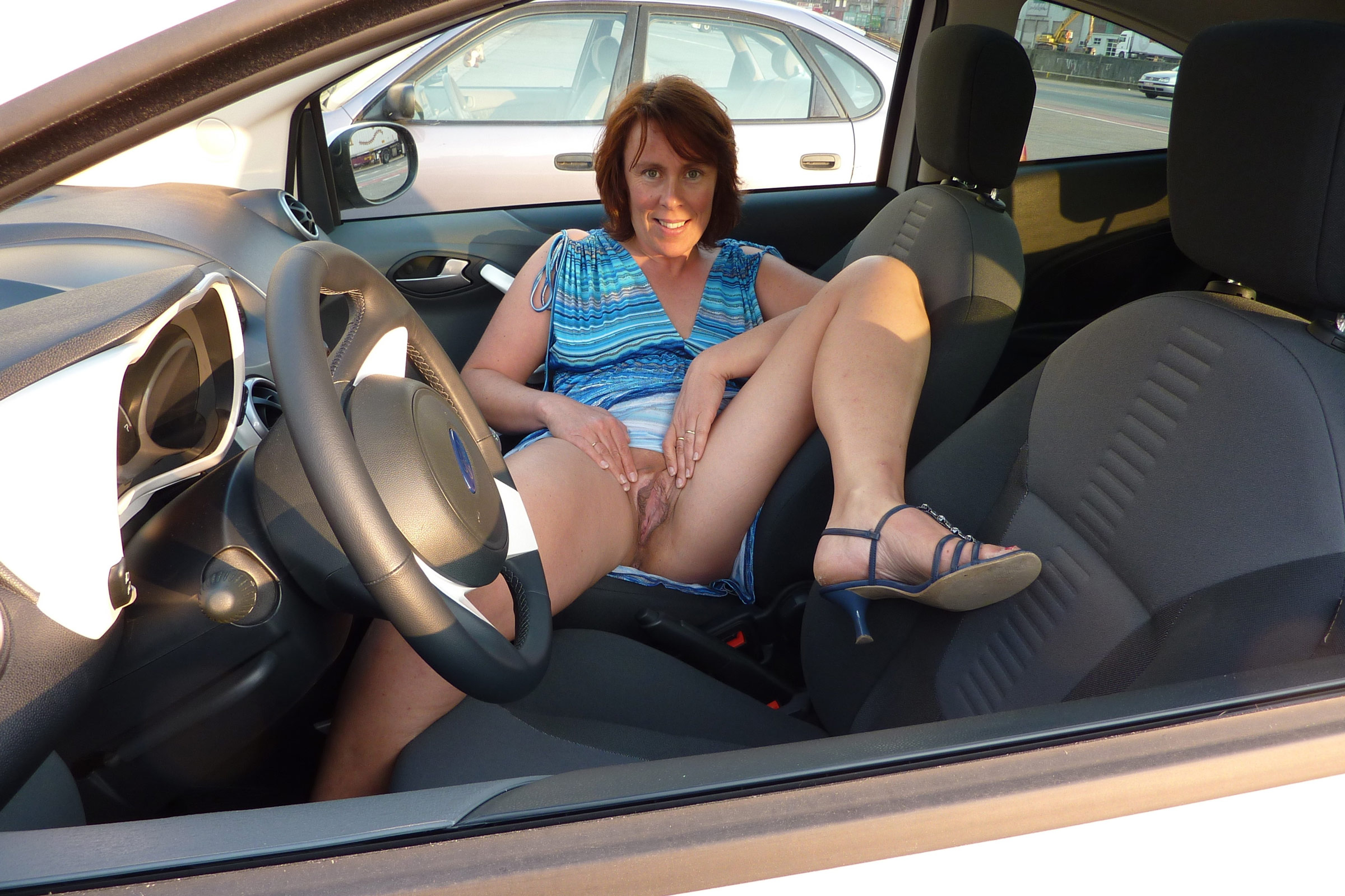 Remarkable, porn naked in the car