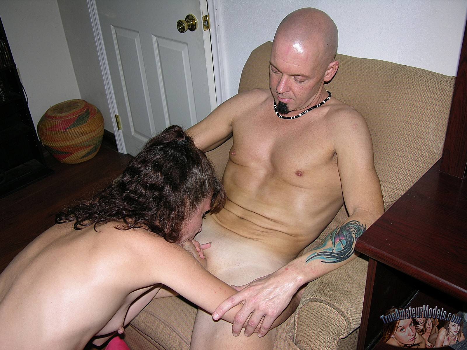 Mom Gives Son First Blowjob